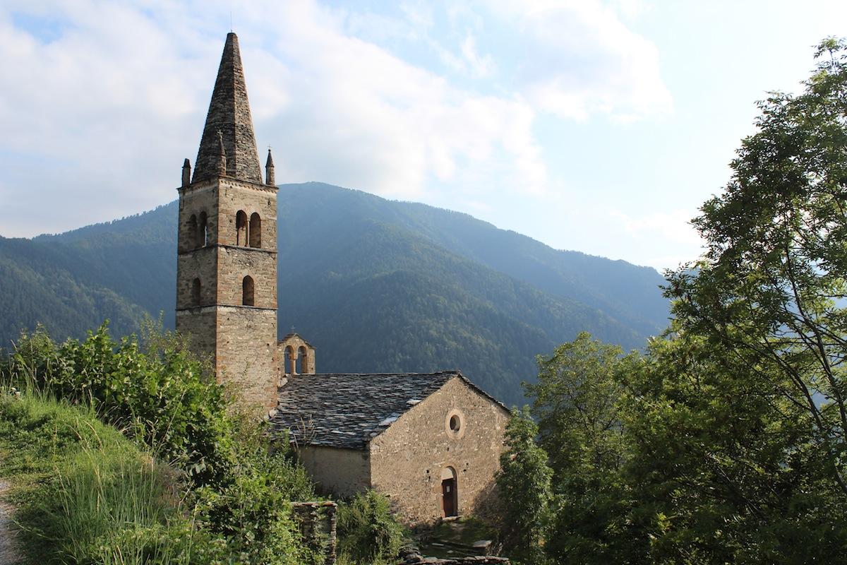 Val Maira, chiesa di San Peyre