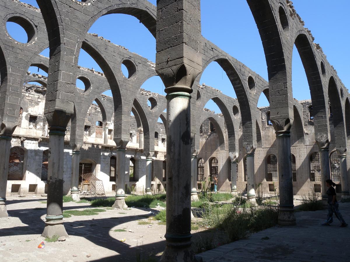 Diyarbakir, chiesa armena
