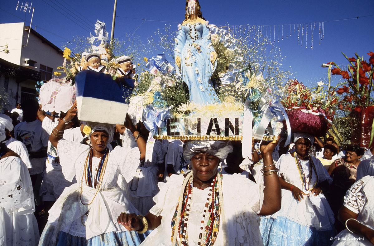 Salvador, Festa della dea Yemanja