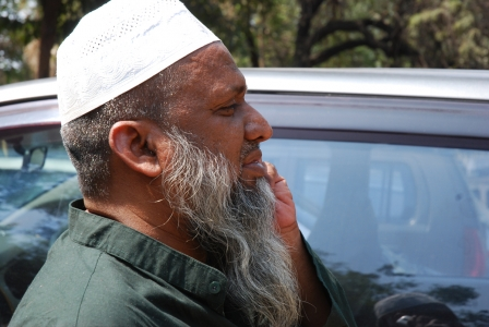 Hyderabad. Abdullah Hosseir. Ginecologo dell'Osmania General Hospital