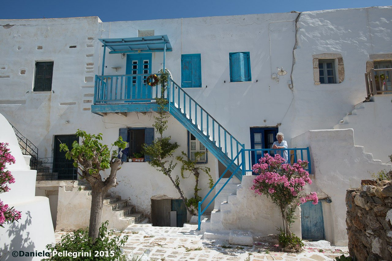 Cyclades, Antiparos Island, Kastro (ancient castle)