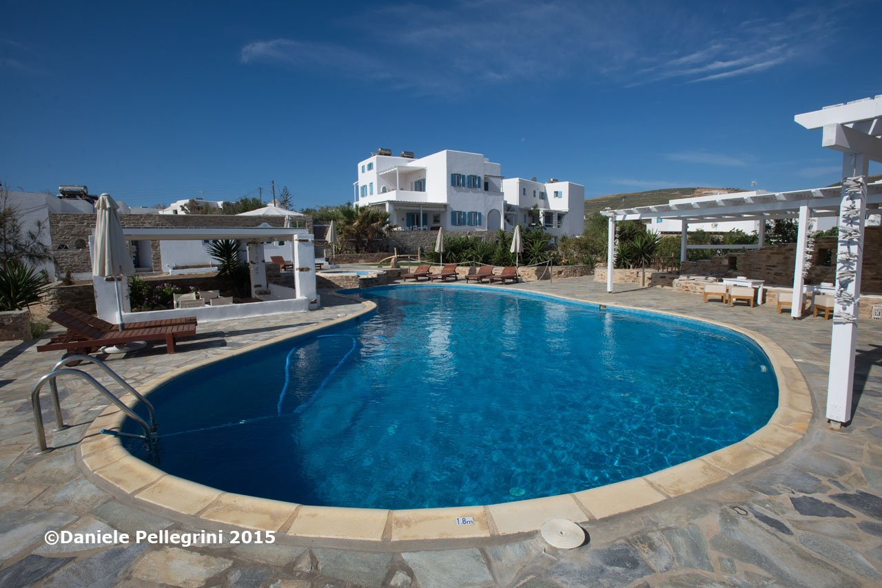 Cyclades Is., Antiparos Is., Kastro Hotel
