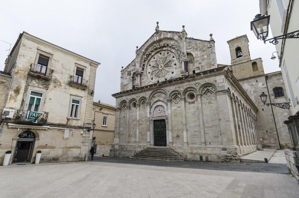 Troia  (Daunia): cattedrale