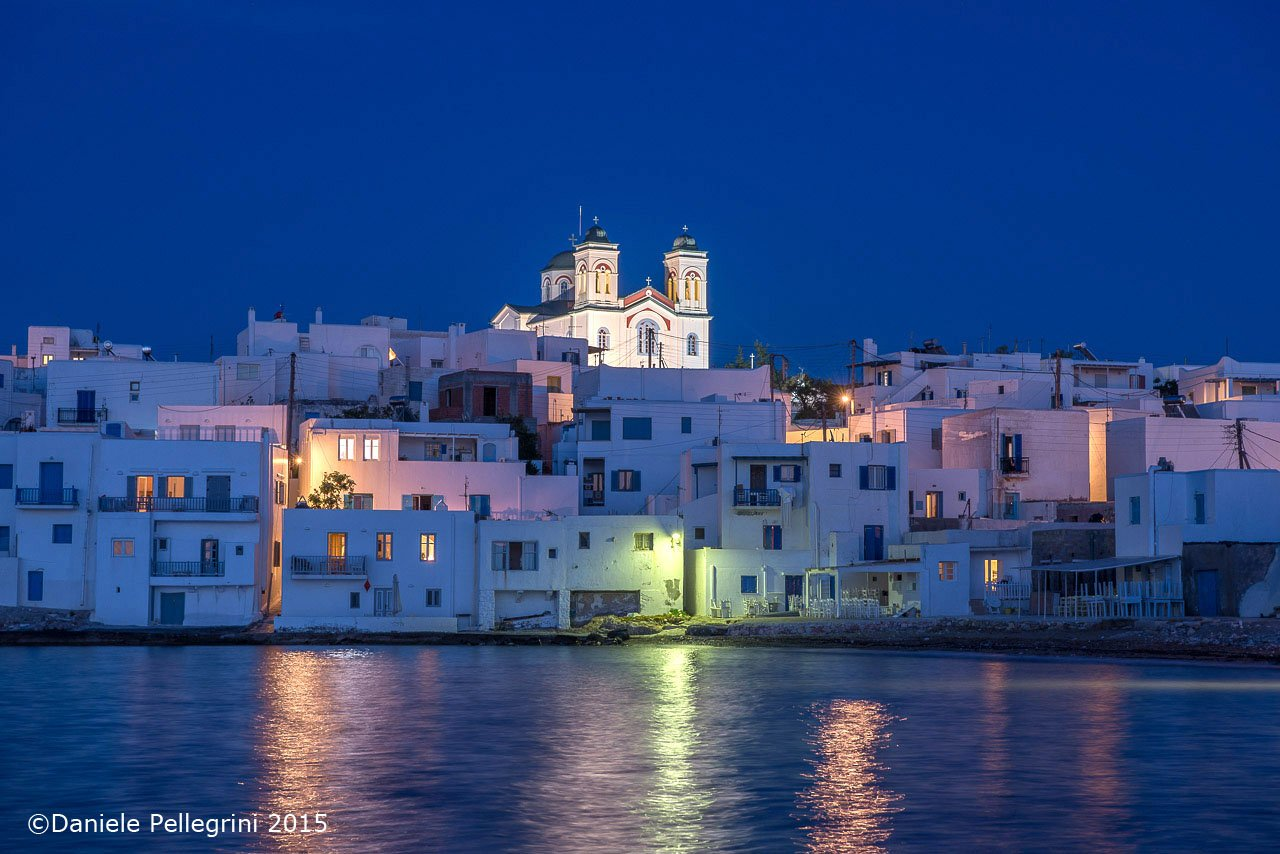 Cyclades, Paros Island, Naoussa