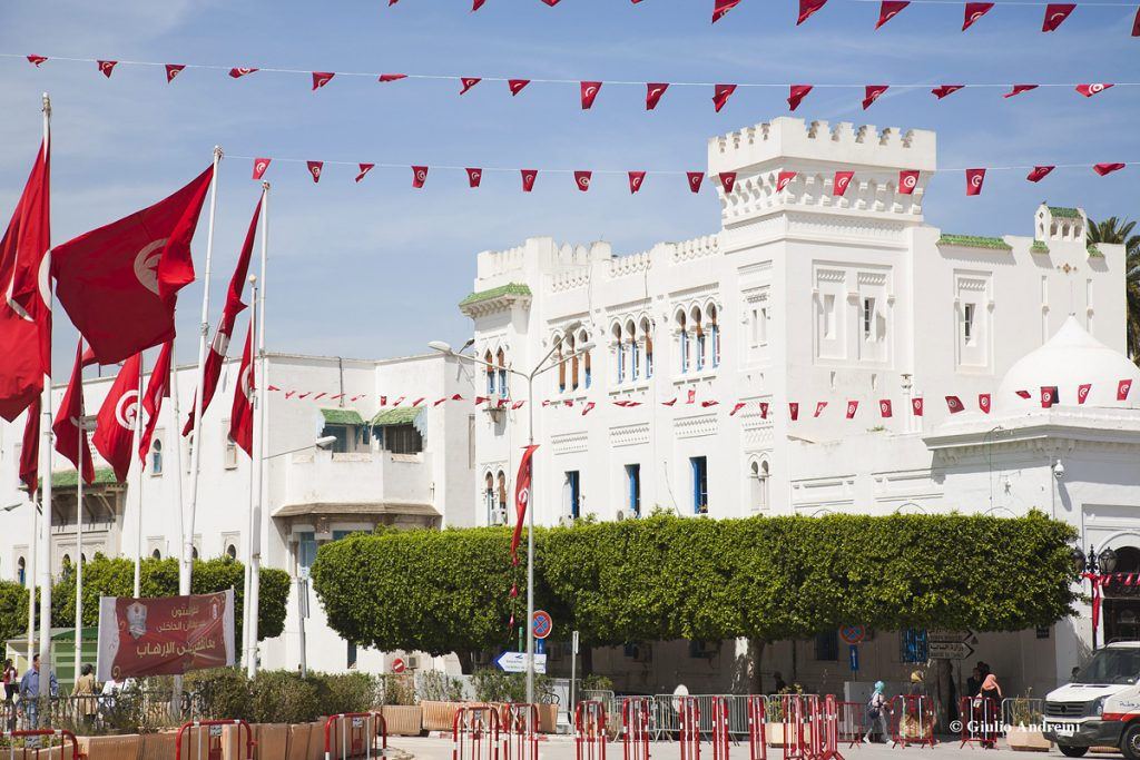 Tunisi Place de la Kasba Palazzo governativo