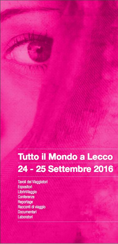 Locandina 24-25 sett.Tutto il mondo a Lecco