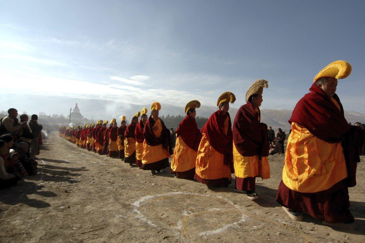 Sichouan, Grande Festa della Preghiera nel Monastero di Geerdeng